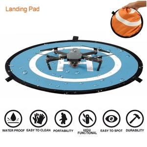 Image 2 - Universal Landing Pad For DJI Mavic pro Portable Foldable Glow in Dark Land Pad for Air pro Phantom 4 pro All RC Racing Gadget