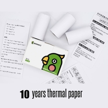 Thermal Paper For Poooli Mini Printer 57*30mm Printer Paper Receipt Paper Suitable for Peripage Paperang Baypage Photo Printing