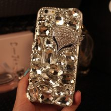 Glitter Diamond Case for Huawei Mate 20 10 Pro P Smart P40 P30 P20 Lite Pro Y6 Y7 2019 Bling Rhinestone Fox Cover(China)