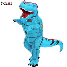 JYZCOS Dinosaur Costume Jurassic Halloween Adult Inflatable Women Kid
