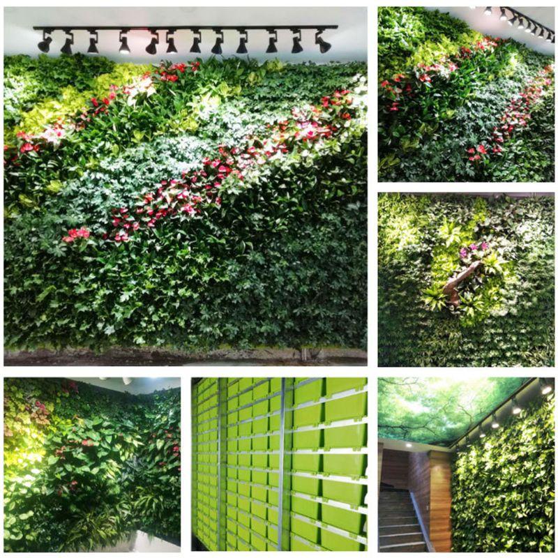 Stackable Flower Pot Wall Hanging Vertical Planter Succulent Plants Bonsai Vase Garden Home Decoration