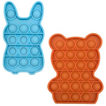 Push Bubble Fidget zabawka sensoryczna autyzm specjalne potrzeby Stress Reliever miękkie śmieszne Push Bubble Fidget zabawka sensoryczna cukierkowe kolory zabawki tanie i dobre opinie CN (pochodzenie) Stress Reliever Toy Chiny certyfikat (3C) 8 ~ 13 Lat 14 lat i więcej 2-4 lat 5-7 lat Dorośli Zwierzęta i Natura