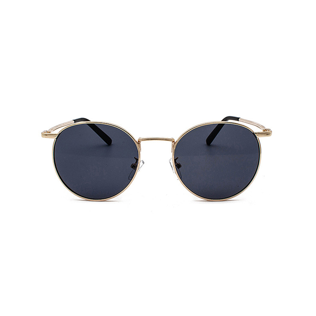 Clear Lens Metal Frame Sunglasses