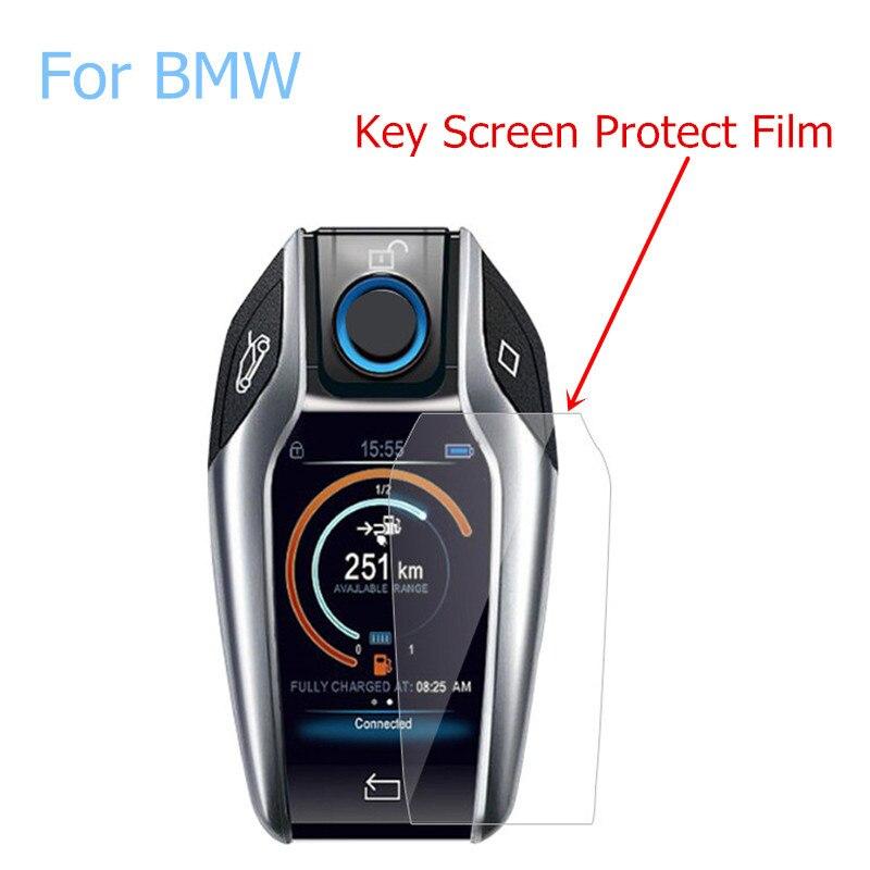 Touchscreen Display Key Digital Key HD Screen Protective Film Anti-scratch Waterproof Film For BMW X3 X4 X5 I8 730li 740li 5/6/7