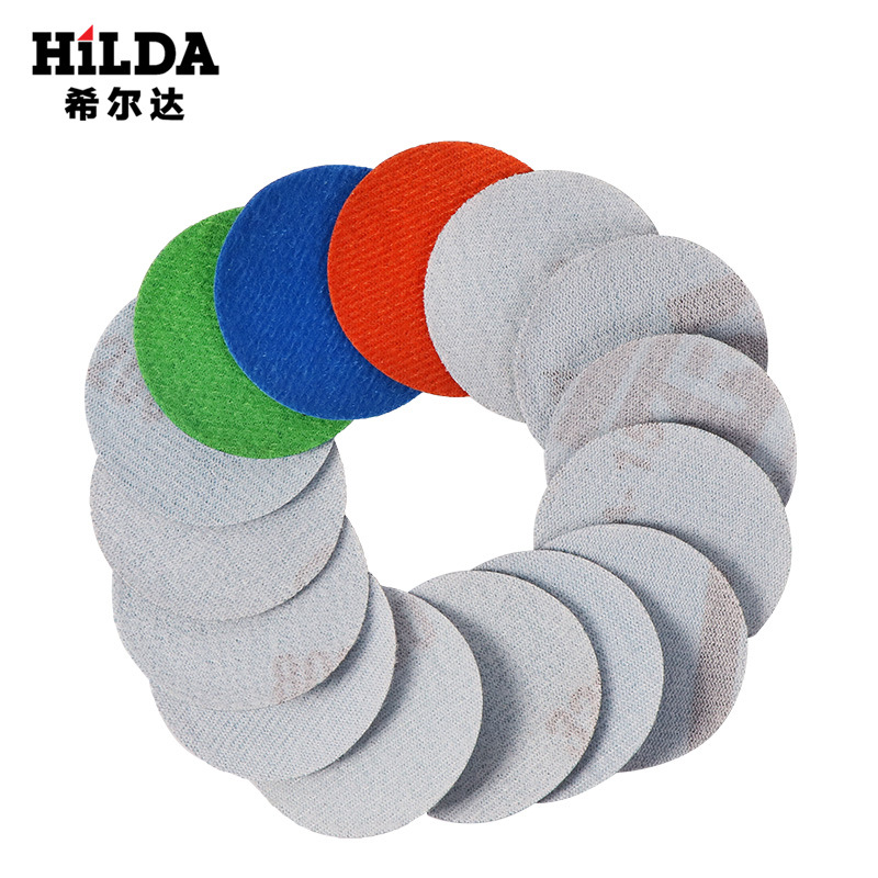 Manufacturers Direct Selling 2-Inch Disc Sandpaper Self-Adhesive Litter Box Napper Bei Rong Pian Flocking Sandpaper Pieces