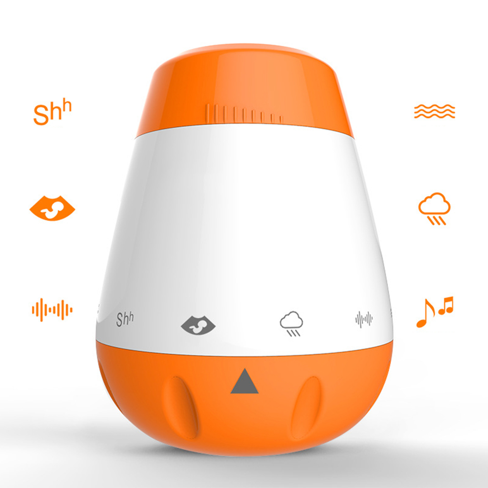 Music Sleep Soother Rechargeable Portable Therapy Sound Machine Voice Sensor White Noise Infants Smart Baby