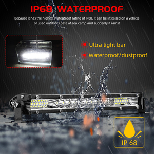 Image 4 - CO LIGHT 10D 10 20 30 inch 52W 104W 156W LED Work Light Bar Combo 4x4 Offroad LED Light Bar for Tractor Boat 4WD 4x4 Trucks ATV