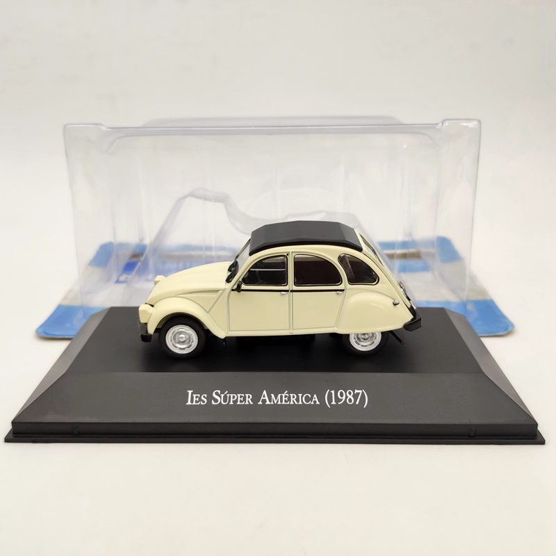 IXO 1:43 Citroen 3CV IES Super America 1987 Beige Diecast Models Limited Edition Collection