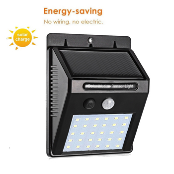 Solar Light PIR Motion Sensor Garden Waterproof Outdoor Energy Saving Street wall Yard Path Home spot flood wall Lamp garage new