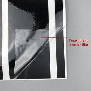 Image 5 - 1 zestaw obustronnie wzór w cętki graficzne dekoracyjne naklejki na Nissan JUKE NISMO naklejki winylowe na karoserię akcesoria do drzwi samochodowych