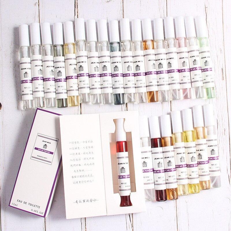 Portable Perfume Spray Perfumed Pheromone  Fruit Flower Smell Body Scent Long Lasting Fragrance For Women & Men Sweat Deodor