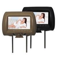 Universal 7 inch TFT LED screen Car MP5 player Headrest monitor Support AV/USB/SD input/FM/Speaker/Car camera