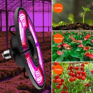 Image 2 - Крытый E27 Led 400 Вт светильник для выращивания панельный полный спектр фитолампа для цветов E26 лампа для растений теплые белые светодиоды фитоламповая палатка