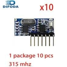 20 шт 315 МГц беспроводной пульт дистанционного управления 4ch