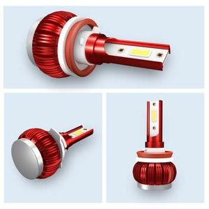 Image 3 - LED H4 LED H1 H7 H11 9005 9006 hb4 hb3 Car Headlight Bulbs  LED Car 6000K White Light Auto Headlight Fog Lamps H7 LED Light Bulb