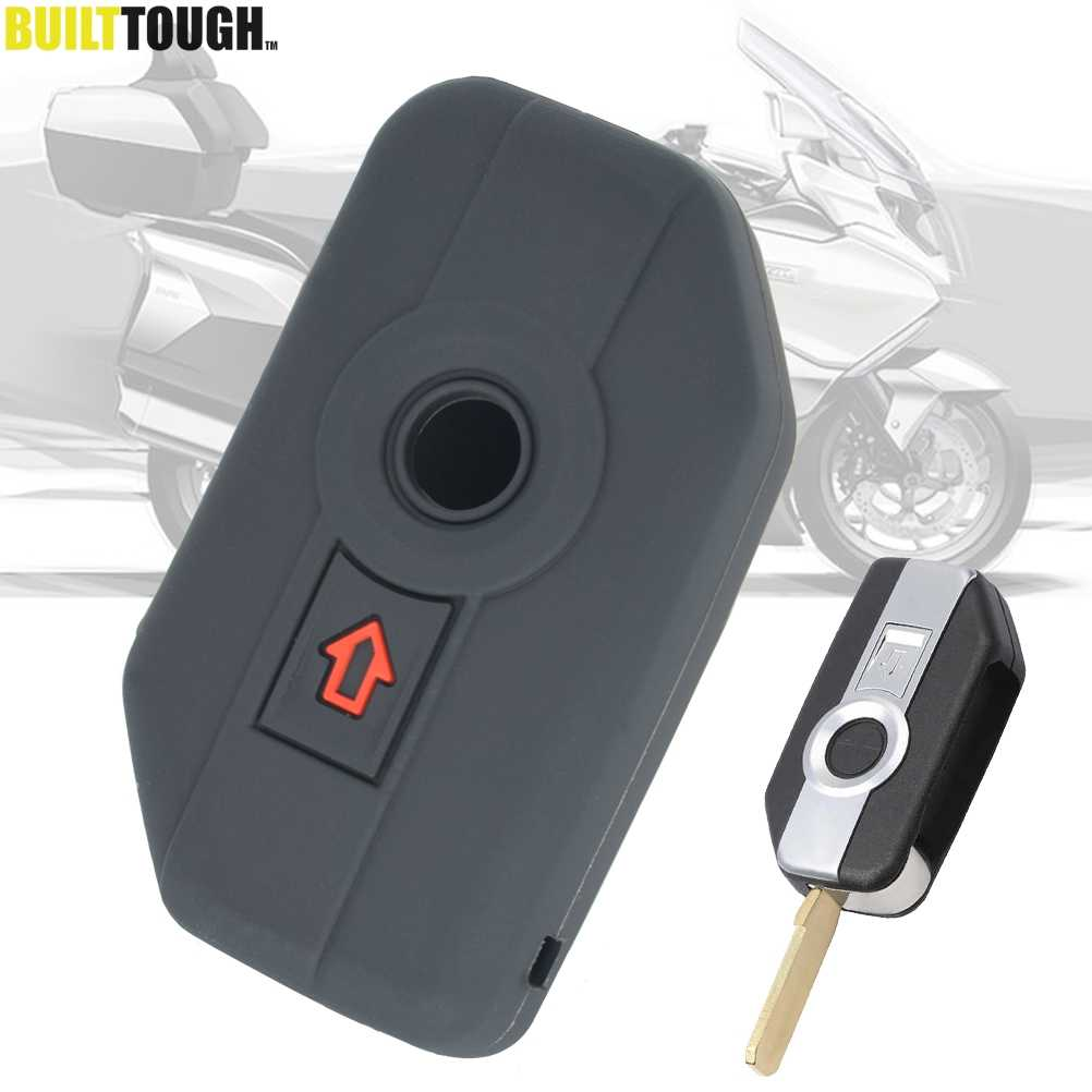 Key Cover Shell Fob Case Skin Holder Siliconen 2 Knop Voor Bmw Motorfiets F750GS F850GS K1600GT R1200GS Lc Adv R1250GS adv