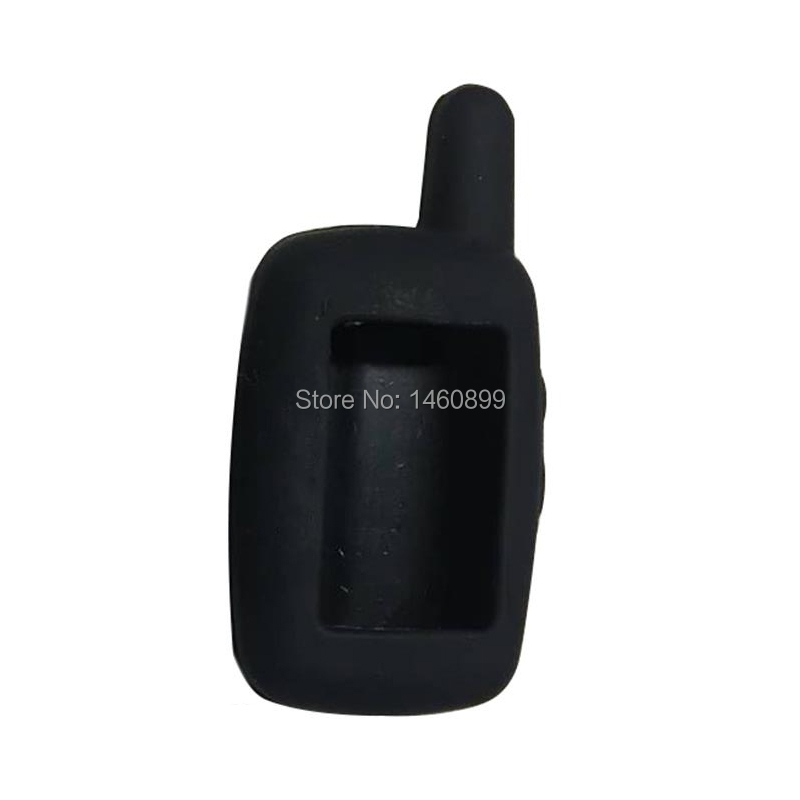 Wholesale A6/A9/A8/A4 Silicone Key Case For 2 Way Car Alarm System LCD Remote Control Key Chain Starline A6 A9 A8 A4 Keychain