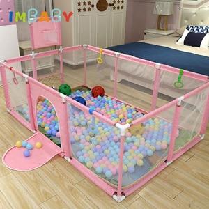 IMBABY Kids Safety Barrier Baby Playpen For Children Pool Balls For Newborn Baby Fence Playpen For Baby Pool Children Playpen(China)