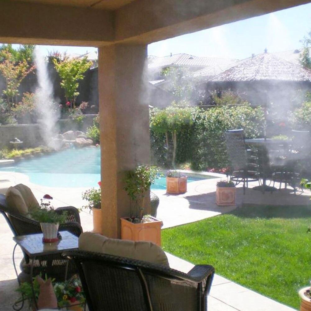 Летняя спринклерная вода Туманная система охлаждения комплект садовый парник разбрызгиватель