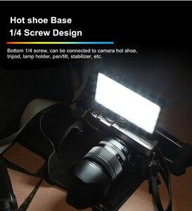 Image 3 - VILTROX Weeylife RB08P RGB 2500K 8500K мини видео Светодиодная лампа, портативный заполнясветильник, встроенный аккумулятор для телефона, камеры, съемки