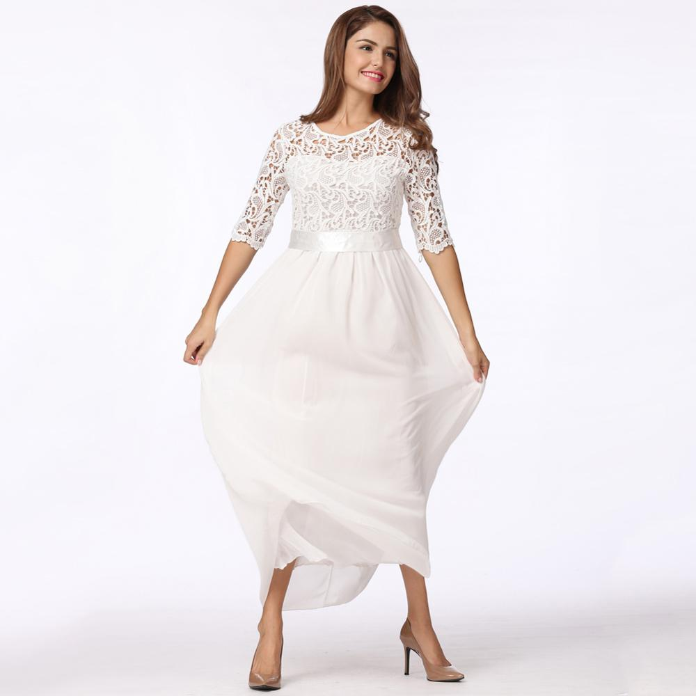 bruiloft jurk plus size