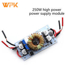 250W High-Power Boost Power Module Board, Constant Voltage And Constant Current LED Driver, Car Laptop, Aluminum Substrate 1Pcs