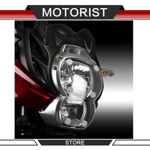 Motorcycle accessories ABS headlight protection cover filter protection plate for KAWASAKI VERSYS 650 2010-2014