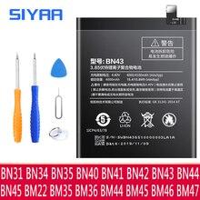 BN43 BN41 BM45 BM46 BN45 BM22 BM47 BN31 Batterie Pour Xiaomi Redmi Note 5 4 4X 2 3 3S 3X Note2 3 4 4X Xiaomi Mi5 5X Batteria