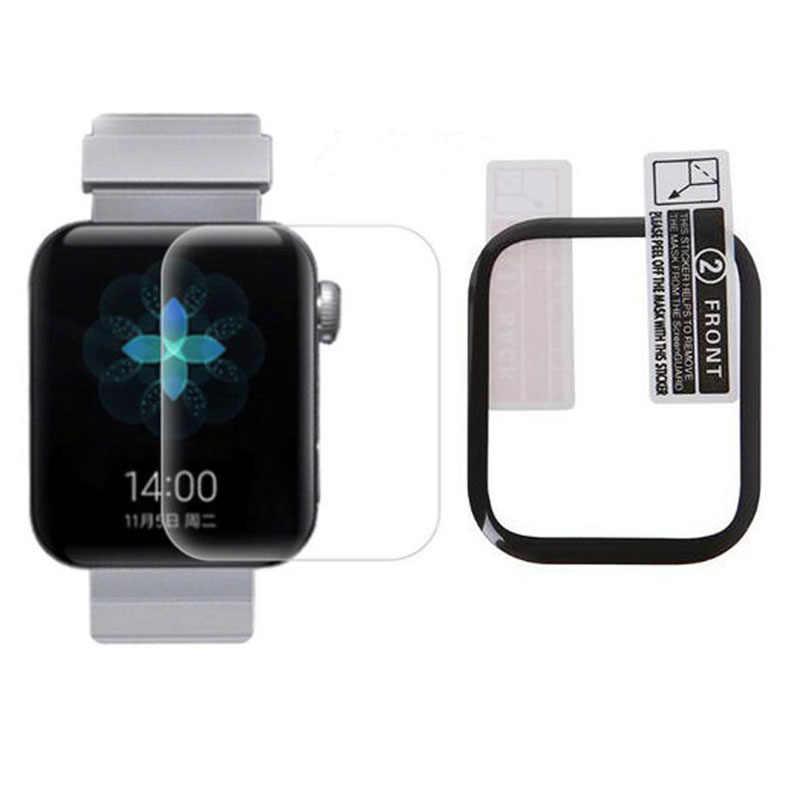 3D incurvé animal de compagnie bord souple clair Film de protection couverture pour Xiaomi Mi montre Sport montre-bracelet intelligente écran protecteur garde (pas de verre
