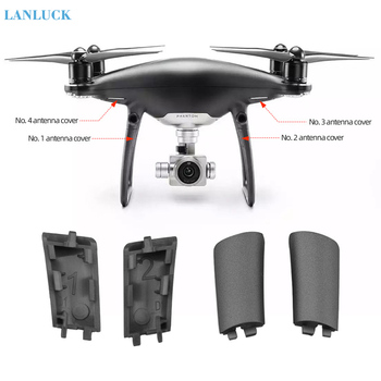 Brand New Landing Gear Antenna Cover for DJI Phantom 4 Pro Obsidian Legs Cover Cap Replacement Repair Parts Drone Accessories image
