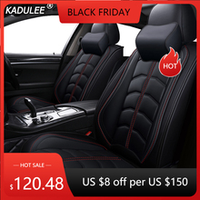 KADULEE 高級革カーシート用カバージープコマンダーコンパスグランドチェロキー Renegade ラングラー Jk カーアクセサリー車のスタイル