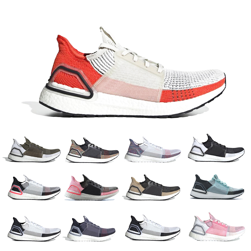 2020 High Quality Ultraboost 19 3.0 4.0 Running Shoes Men Women Ultra Boost 5.0 Runs Kinit Sneakers Athletic Shoes Size 36-47
