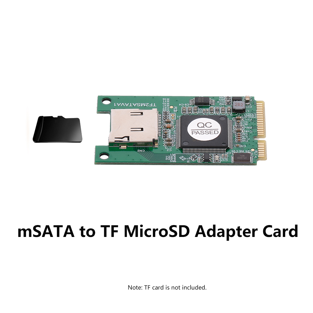 Msata para tf microsd adaptador cartões laptops conversor para windows me/2000/xp/vista/7/8/10 e mac os
