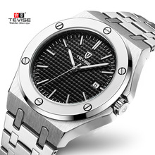 Tevise Automatic Mechanical Watches Top Brand Luxury Mens Watches Sport Self Winding Male Wristwatch For Men Relogio Masculino pagani design automatic watch men waterproof mechanical watches mens self winding horloges mannen dropship