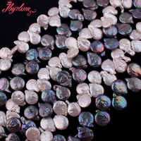 10-15mm Racket Shape Freshwater Pearl Beads Natural Stone Beads For Necklace Bracelets Jewelry Making Loose 14.5