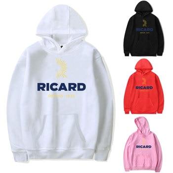 Hoodies Sweatshirts Men RICARD Hoodie Bluza Damska Streetwear Hoodie Pink Clothing Polerone Winter Clothes Women Harajuku Shirt