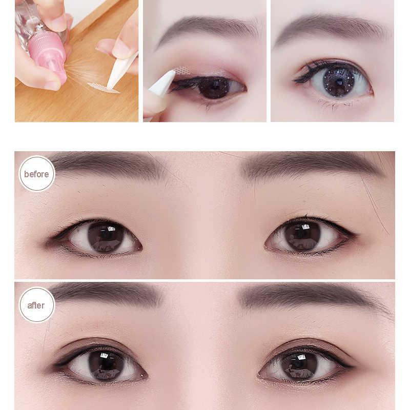 Caja de pegatinas para ojos grandes, 306 unidades, pegatina para párpados dobles, cinta adhesiva para párpados, S/L, accesorio Invisible para maquillaje en color Beige claro