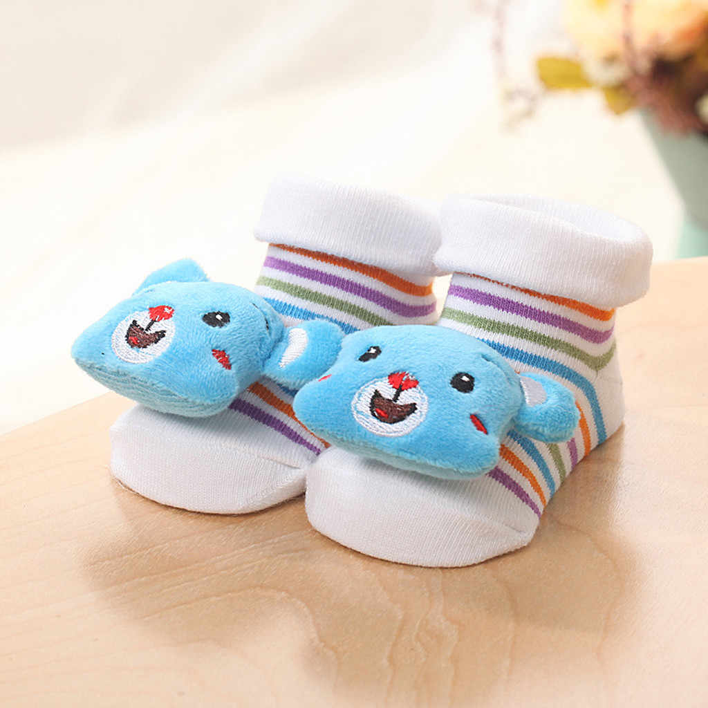 Dibujos Animados recién nacidos bebés niñas niños antideslizantes calcetines calientes Zapatillas Zapatos Botas Niño Niña Zapatos bebé niña zapatos infantiles