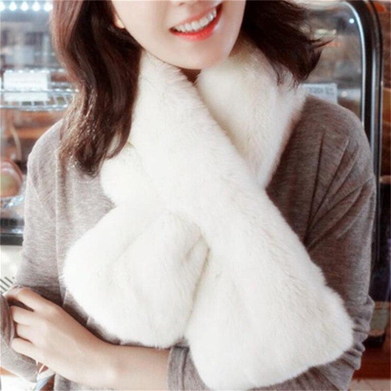 Модные однотонные шарфы студенческие кольца зимние теплые шарфы плюшевые простые платки шарфы для женщин