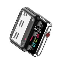 Protective Cases Cover for Apple Watch TPU Silicone Soft Protect Shell Case for