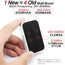 2020 nouvelle télécommande clone multi fréquence 300 900MHz pour HORMANN DOORHAN CLEMSA BENINCA CARDIN NOVA NORMSTAHL