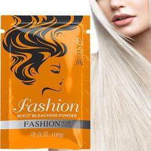 Desvanecimento do pó creme cabelo dioxygen emulsão material proteína branqueamento cabelo pó branqueamento agente 100g