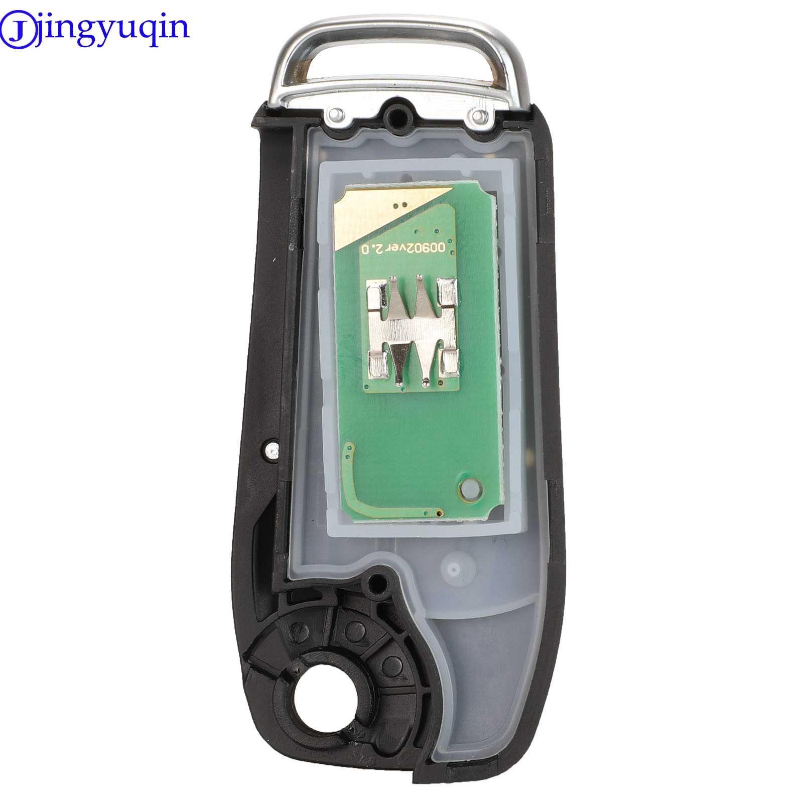 Jingyuqin للطي حافظة مفتاح بعيد غطاء للفورد فييستا التركيز 2 Ecosport كوغا الهروب C ماكس كا 3 أزرار مفتاح فوب HU101 / FO21