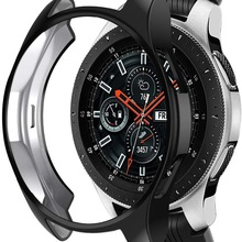 Case for Samsung Galaxy Watch 46mm 42mm Gear S3 Frontier Classic TPU Slim Plated Case Cover All-Around Protective Bumper Shell