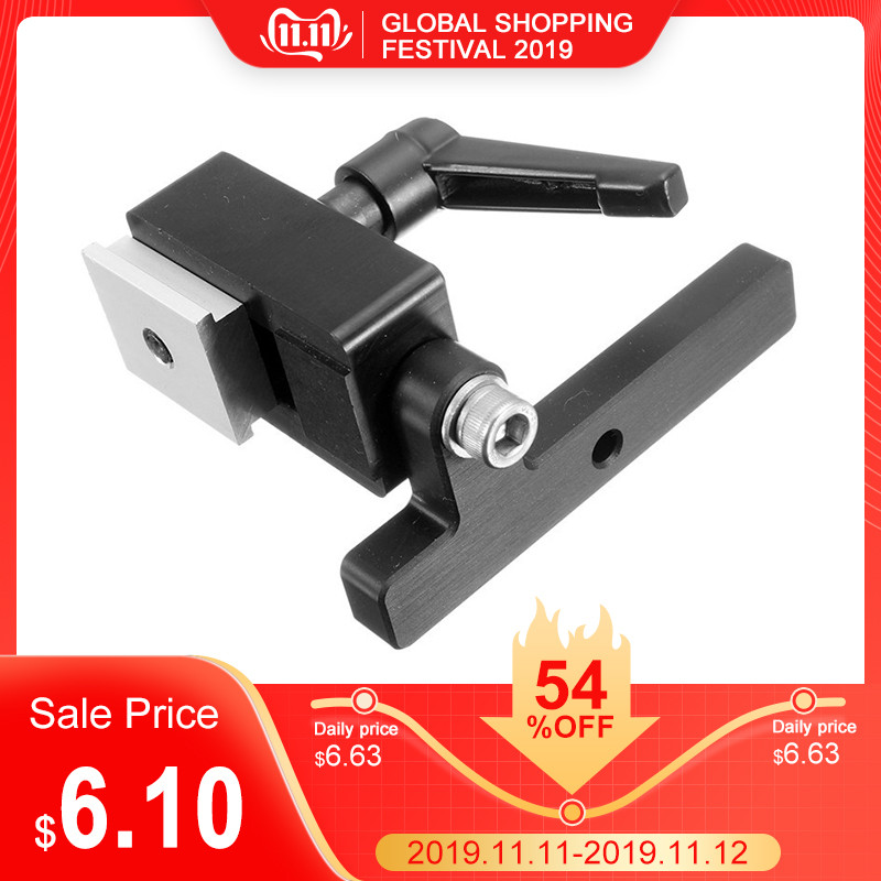 1pc Miter Track Stop For T-Slot T-Track Wood Working Tool Manual Durable In Use High Quality