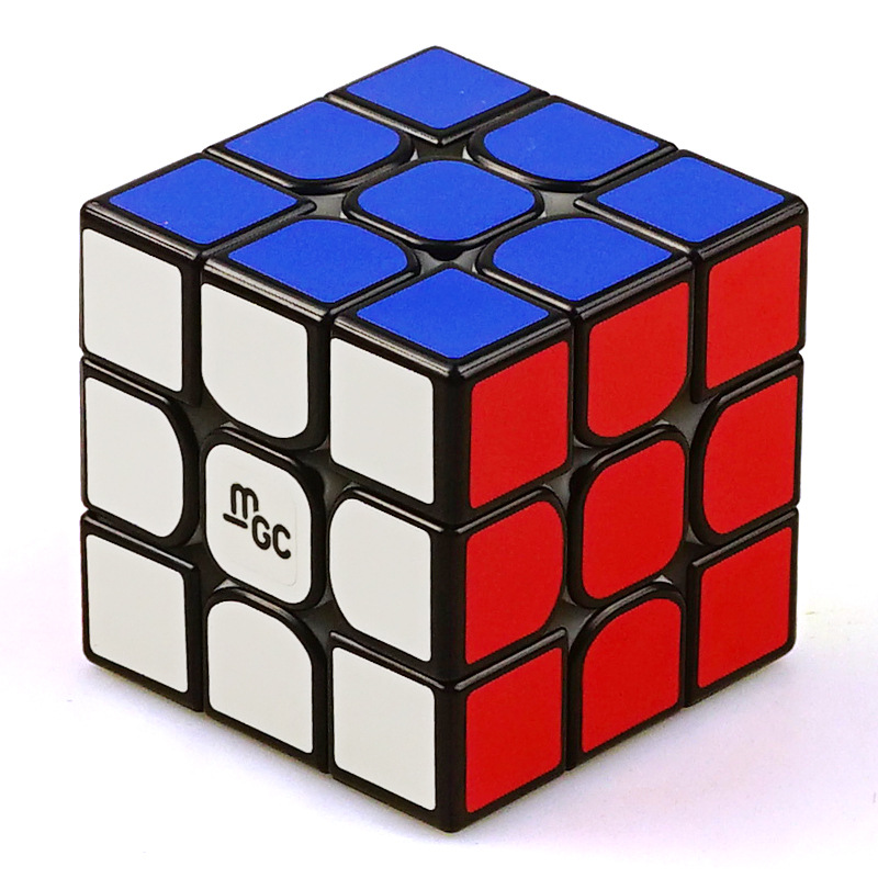[Yongjun/yj Mgc Three Layer Magnetic Version Second Generation] Profession Game Only 3-Order Magnetic 2 Generation Rubik's Cube