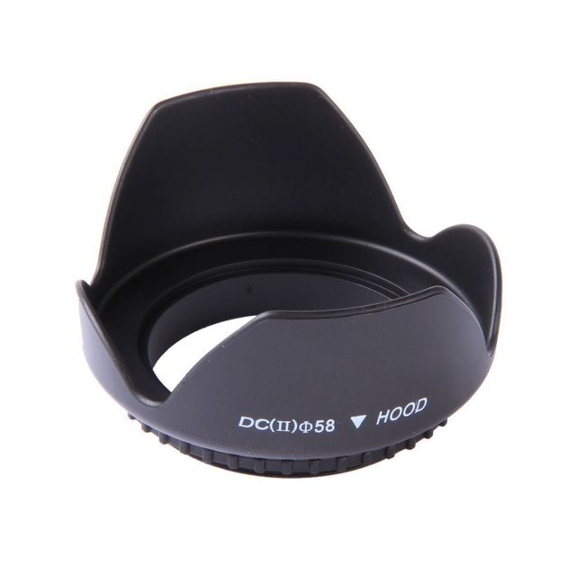 58MM UV CPL FLD Filter Kit + Objektiv Haube Kappe für Canon Rebel T6i T5i T4i T3i 18- 55mm
