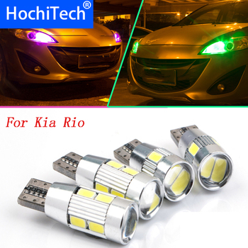 1pc safe No error multiple color T10 light W5W Front Side Maker Light Front Clearance Bulb Lamp Source For Kia Rio Rio5 2013 image