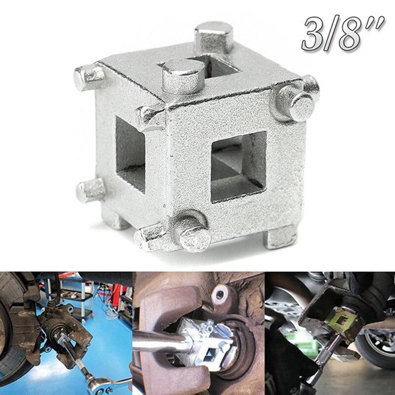 "Rear Disc Brake Caliper Piston Rewind//Wind Back Cube Tool 3//8/"" Drive TYJCA"