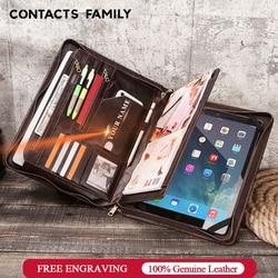 Funda Retro de piel de vaca para iPad Pro 12,9 2020 diario portafolio para Macbook Air de 13,3 pulgadas con familia de Contact